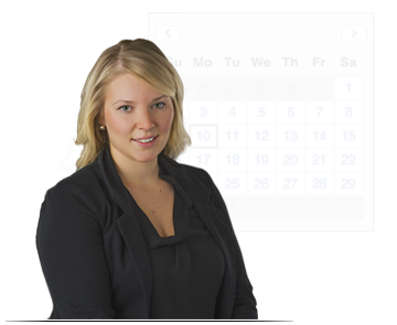 Select a day and time in the appointment calendar to schedule a demonstration with Jules